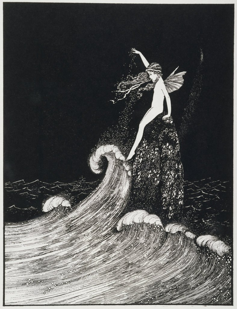 flower of the foam ida rentoul outhwaite